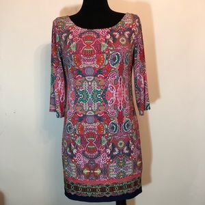 Laundry by Shelli Segal Dress S Small Pink